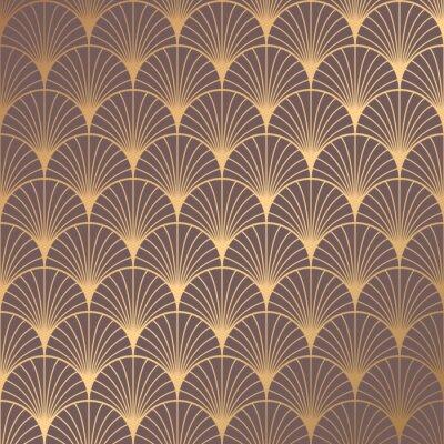 Наклейка Art Deco Pattern