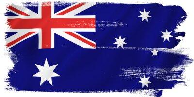 Наклейка Австралия флаг