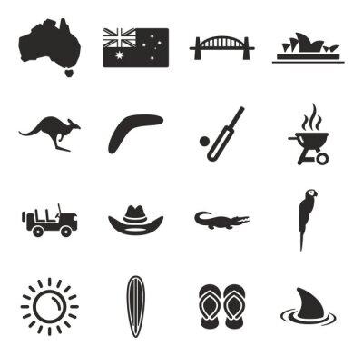 Наклейка Australia Icons