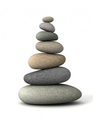 Наклейка баланс камни