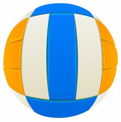 Наклейка Мяч для игры в волейбол
