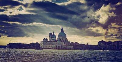 Наклейка Базилика Санта-Мария делла Салюте в Венеции