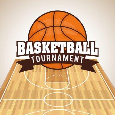 Наклейка Дизайн Баскетбол