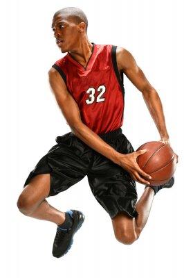 Наклейка Баскетболист Dunking бал
