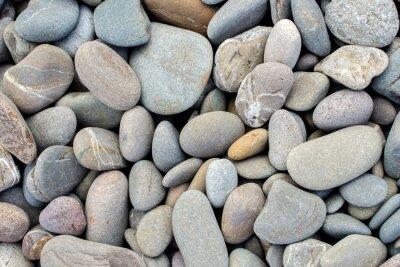 Наклейка фон пляж камни