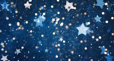 Наклейка Beautiful decorative Christmas background