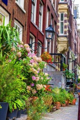 Наклейка Красивый дом в Амстердаме