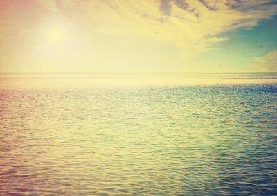 Наклейка Красивое небо и синее море