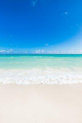 Наклейка красивый тропический море