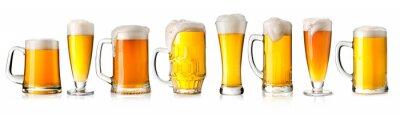 Наклейка стакан пива