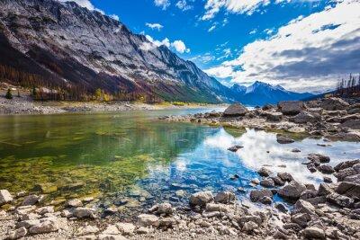 Наклейка Озеро обмелевший Медицина в падении