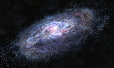 Наклейка За галактики