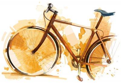 Наклейка Bike Race