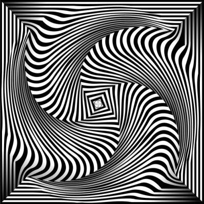 Наклейка Черный и белый Опт искусство фон