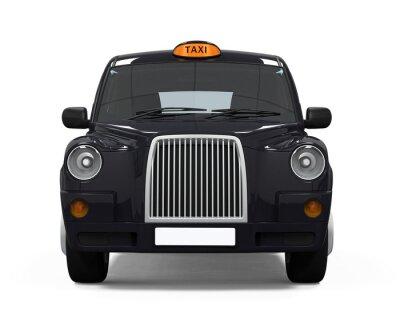 Наклейка Черный London Taxi