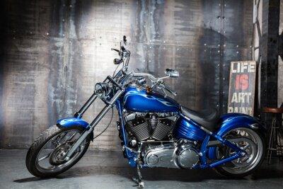 Наклейка синий хром дорожный велосипед