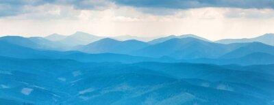 Наклейка Голубые горы