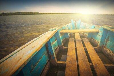 Наклейка Лодки на river_5