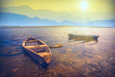 Наклейка Лодки на river_6