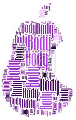 Наклейка тело
