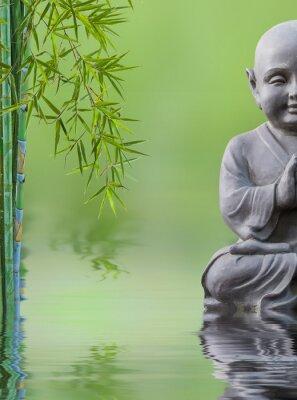 Наклейка Bouddha Enfant др Bambou Aquatique, состав дзен
