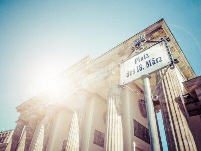 Наклейка Бранденбургские ворота, Берлин