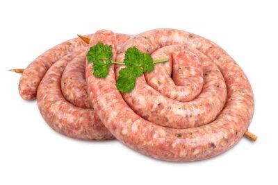 Наклейка Спиральные колбасы