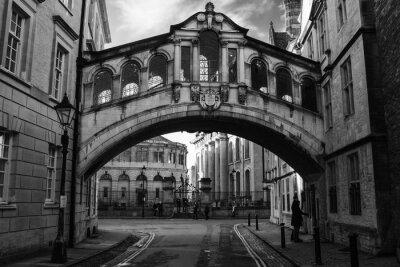 Наклейка Мост вздохов в Оксфорде.