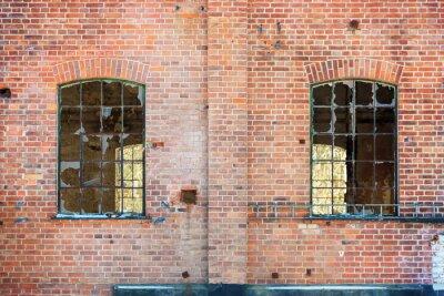 Наклейка Разбитые окна