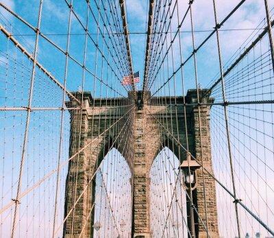 Наклейка Бруклинский мост