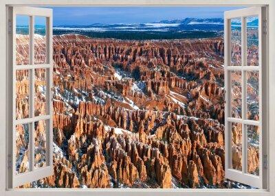 Наклейка Брайс-каньон