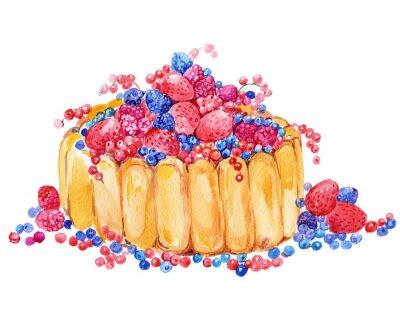 Наклейка кекс