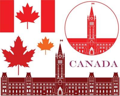 Наклейка Канада