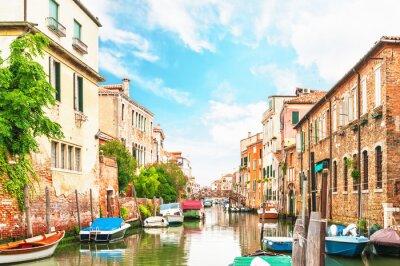 Наклейка Канал в Венеции Италия