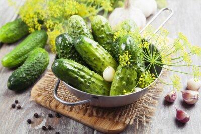 Наклейка Canned cucumbers