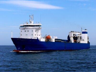 Наклейка Грузовое судно ро-ро
