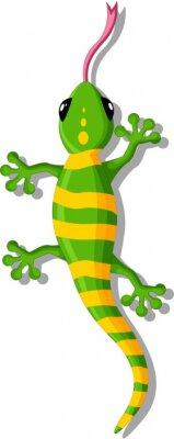 Наклейка Мультфильм Gecko для вас дизайн