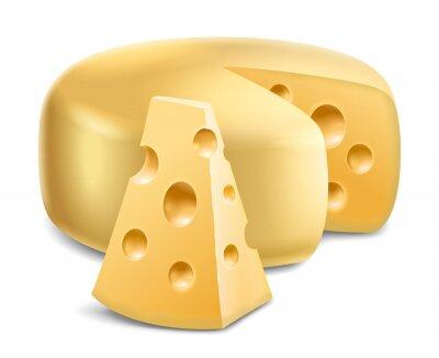 Наклейка сыр
