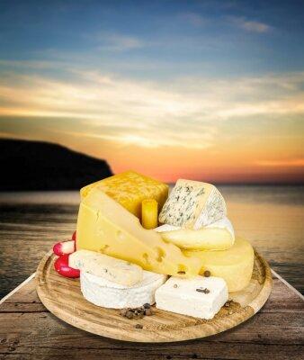 Наклейка Сыр.