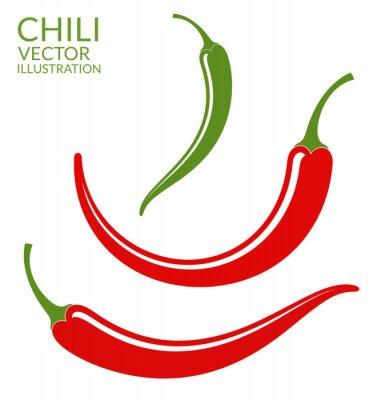 Наклейка Перец Чили