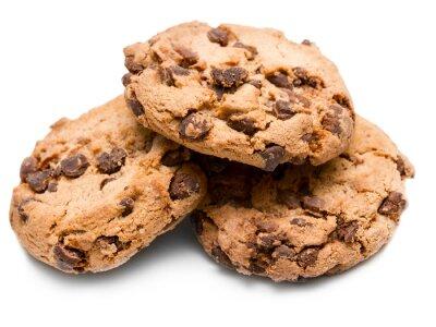 Наклейка шоколадное печенье