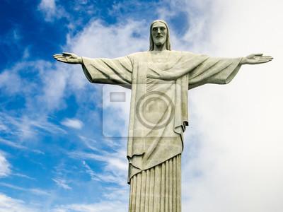 Наклейка Christusstatue в Рио-де-Жанейро