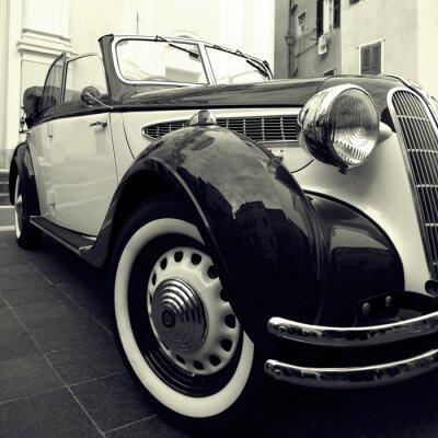 Наклейка Классический автомобиль