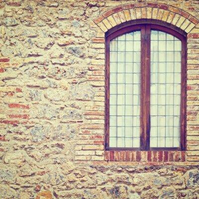 Наклейка Закрытое окно