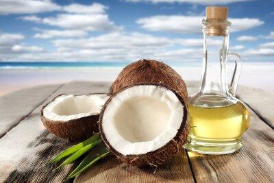 Наклейка кокосы