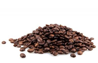 Наклейка Кофейные зерна