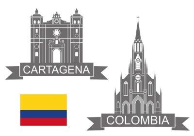 Наклейка Колумбия