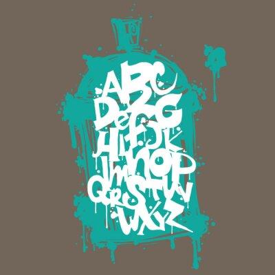 Наклейка Хип-хоп граффити дизайн