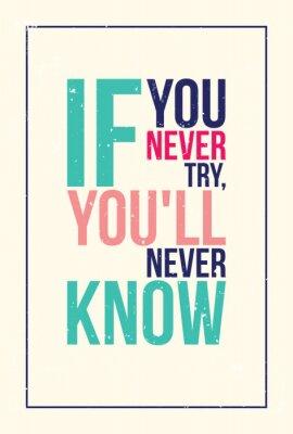 Наклейка красочные вдохновение мотивация плакат. Гранж стиль