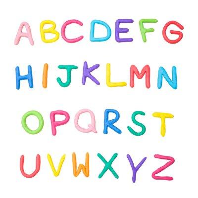Наклейка красочный алфавит от А до Я